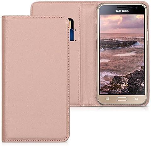 kwmobile Flip cover pour Samsung Galaxy J3 (2016) DUOS en