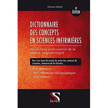 Dictionnaire des Concepts en Sciences Infimieres - 4e édition