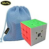 MoYu YULONG 3x3 3 Layers Magic Cube Speed Puzzle Cube Stickerless + One MoYu Cube Bag