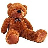 Yorbay Riesen XXL Teddybär 2m Braun Kuschelbär Kuscheltier Stofftier Bär Teddy Plüschbär zum liebhaben