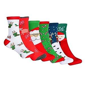 YQing Calcetines de Navidad, 6