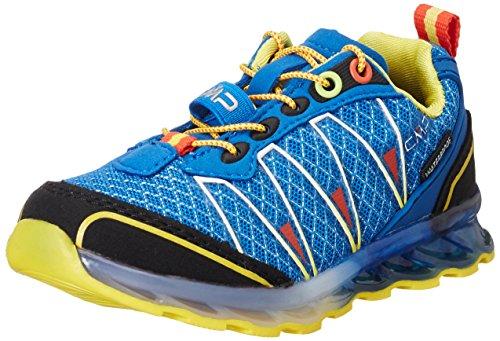 C.P.M. Atlas, Chaussures de Trail Mixte Enfant Bleu (Vela)