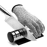Messerschleifer - Messerschärfer 3 stufen Design knife sharpener Messerschärfer mit