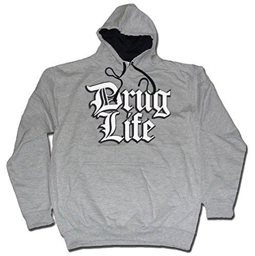 Dibbs Clothing Herren T-Shirt Schwarz Schwarz Grau - Grau