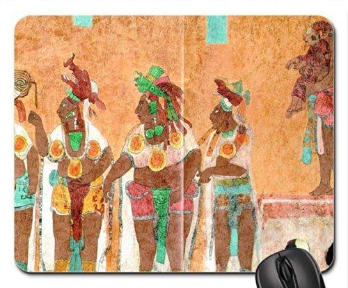 Mayan Wall Paintings Mouse Pad, Mousepad (Ancient Mouse Pad)