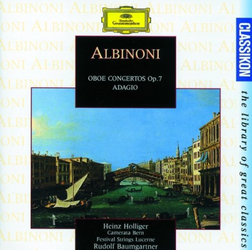 Albinoni: Concerto a 5 in F, Op.7, No.9 for Oboe, Strings and Continuo - 2. Adagio