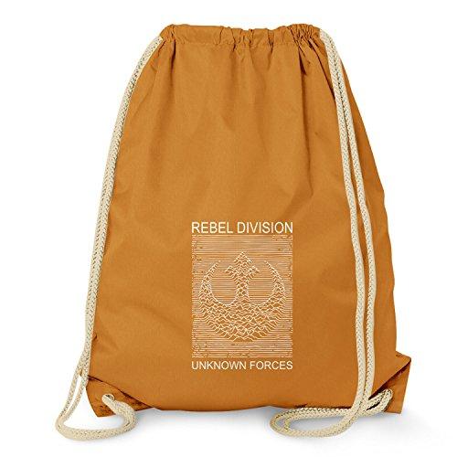 NERDO Rebel Division - Turnbeutel, orange (Orange Wings Kostüme)