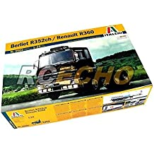 RCECHO® ITALERI Truck & Trailers Model 1/24 Berliet R352ch / Renault R360 3902 T3902 with RCECHO® Full Version Apps Edition