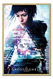 UHIBROS Ghost in The Shell One Sheet Poster Cork Pin Memo Board Hêtre encadré-96.5x 66cms (Environ 96,5x 66cm)