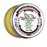 BFWood Sandalwood Scent Beard Balm for Men 60g - Tame, Moisturize, Condition Your Beard