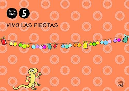 Cuaderno Vivo las fiestas 5 años Torbellinos (Andalucía) - 9788421841822