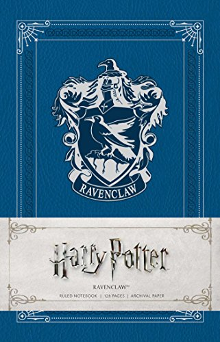 Blue Potter Harry (Harry Potter: Ravenclaw Ruled Notebook)