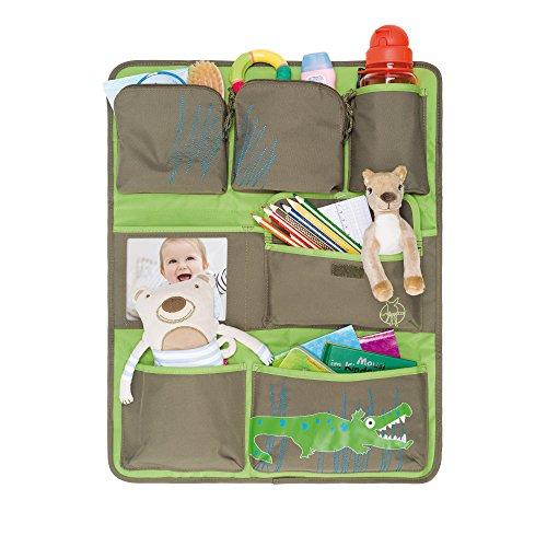 Preisvergleich Produktbild Lässig Car Wrap-to-Go Auto-Utensilientasche Autorücksitzorganizer/Rücksitztasche für Auto oder Kinderzimmer zum Hängen, Crocodile granny