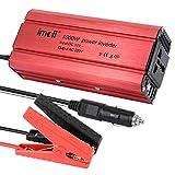 Demiawaking Auto DC 12-24V a AC 220V Inverter di Potenza e di Tensione Convertitore Caricabatteria USB