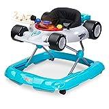 Caretero Toyz Speeder Lauflernhilfe Gehhilfe Laufhilfe mit Spielcenter Silver