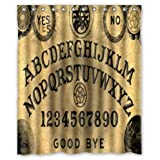 Best Now Designs shower curtain - Special Design Ouija Board Waterproof Bathroom Fabric Shower Review