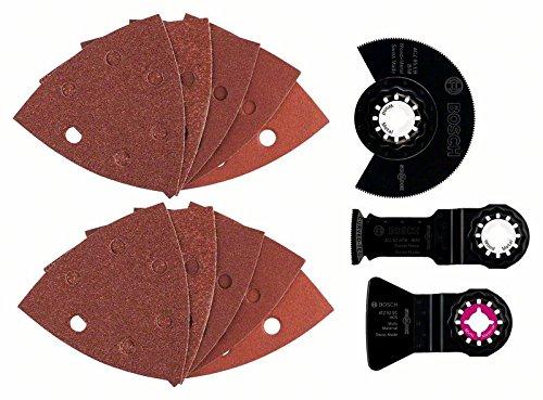 Bosch DIY 5tlg. Universalset (Holz, Metall, PVC und Farbe für Multifunktionswerkzeuge Starlock)