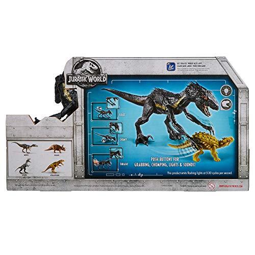 World Dinosaurio De Jurassic Juguete Y Luces Sonidosmattel Indoraptor Fly53 tsrhdCQx