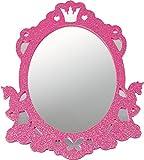 Zauberhafter Wandspiegel zum Aufkl. Prinz.Lillifee
