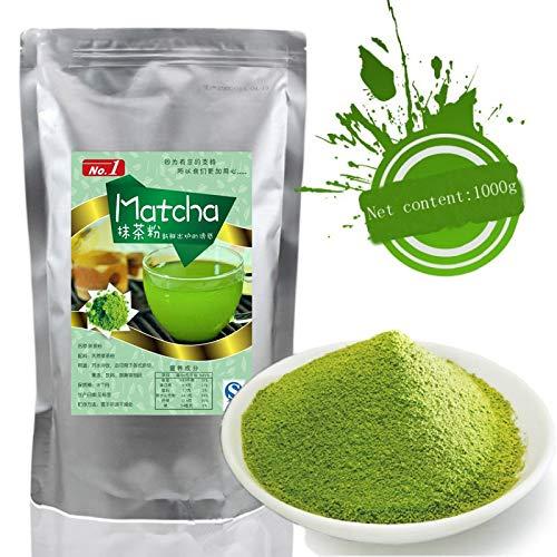 1000g (2.2LB) Matcha-Grün-Tee-Pulver 100% natürlicher organischer grüner Tee Matcha-Tee Roher Tee sheng cha gesundes Lebensmittel Grünes Lebensmittel