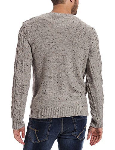 Timezone Knit Pullover - Pull - Homme Grau (light grey melange 9174)
