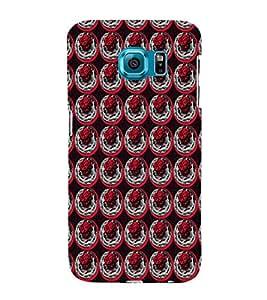 EPICCASE rose in plate Mobile Back Case Cover For Samsung Galaxy S6 Edge (Designer Case)