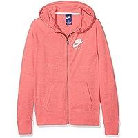 Comparador de precios Nike Girls' Sportswear Vintage Hoodie Sudadera, Niñas, Coral/Azul, XL - precios baratos