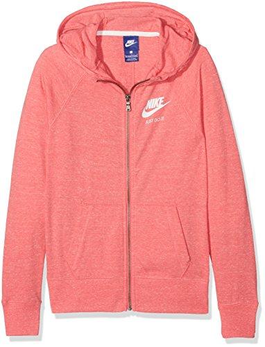 Nike Mädchen Sportswear Vintage Hoodie Girls Trainingsanzüge, Koralle, XL