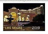 LAS VEGAS - by night (Wandkalender 2019 DIN A3 quer): Tauchen Sie ein in das nächtliche Las Vegas. Lassen Sie sich von den Bildern des Kalenders in ... (Monatskalender, 14 Seiten ) (CALVENDO Orte)