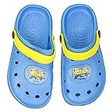 Minions Badelatschen Clogs Blau Banana
