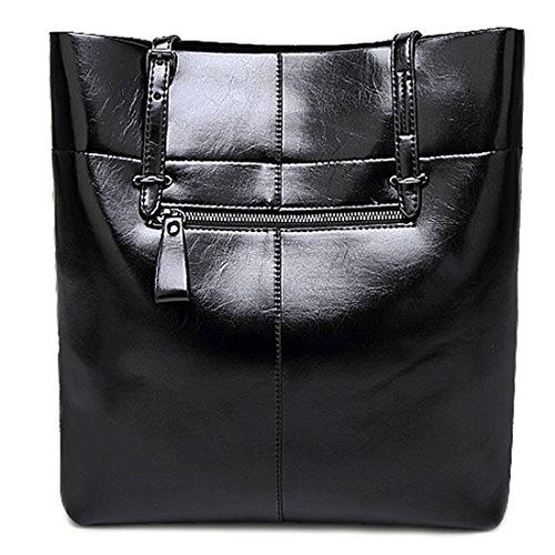 YYWOversized Tote Bag - Borsa tote grande Donna Blue