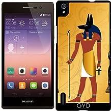 Funda para Huawei AscendP7 - Anubis, Egipcio Antiguo by nicky2342