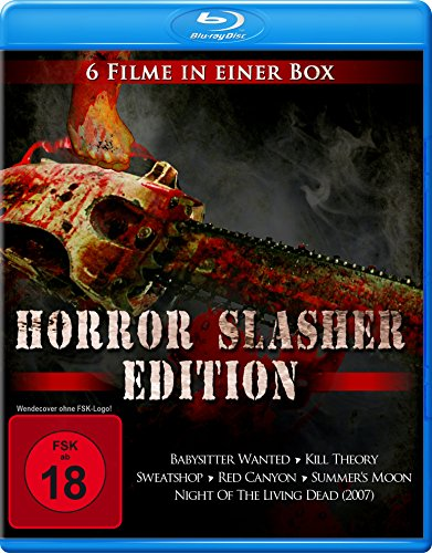 Horror Slasher Edition (6 Filme in einer Box) [Blu-ray] - Horror-slasher-filme