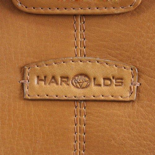 Harold's Country cartella de medico borsa da medico con chiusura pelle 45 cm cognac Nero