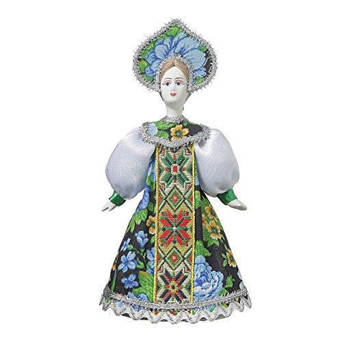 danila-souvenirs Russische Handgemachte Porzellan Traditionelle Volkskostüm Puppe 18 -