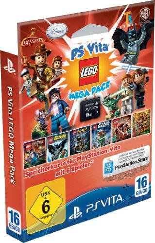 SONY Speicherkarte 16GB inklusive Lego Mega Pack -