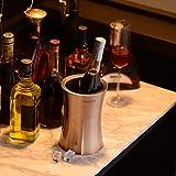 Velaze Edelstahl Flaschenkühler, 1,5 L Weinkühler, Sektkühler, Champagnerfarbe - 8