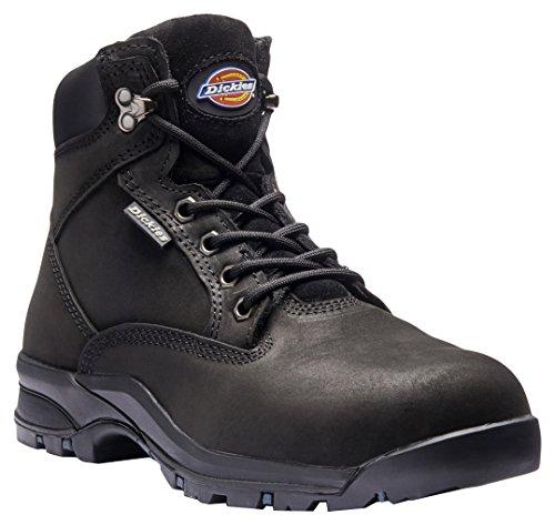 Dickies Damen/Damen Corbett Leder Composite Zehenschutzkappe Sicherheit Stiefel schwarz