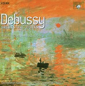 Debussy - Oeuvres pour orchestre : La Mer - Prélude à l'après-midi d'un faune...