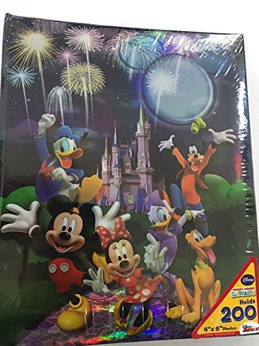 Unbekannt Disney Mickey Mouse Castle Sweet Memories 200Bild Foto Album 4x 6 -