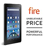 "Fire Tablet, 7"" Display, Wi-Fi, 8 GB (Black) - Includes Special Offers"