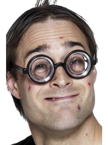 Zubehör Kostüm Wissenschaftler - Smiffys Kostüm Zubehör Wissenschaftler Streber Brille Karneval Fasching