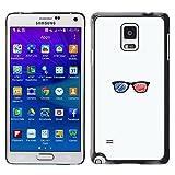 Stuss Case / Funda Carcasa protectora - Gafas 3D - Samsung Galaxy Note 4