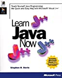 Learn Java Now, with CD-ROM by Stephen Randy Davis (1996-11-01)