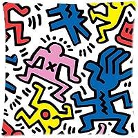 Lenzuola Keith Haring Matrimoniali.Keith Haring Lenzuola E Federe Biancheria Da Letto Amazon It