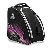 Jackson Oversized Ice Skate Bag - Black/Purple