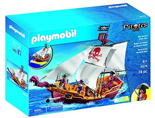 Playmobil 5678 rot Serpent Piratenschiff (74 Stücke)