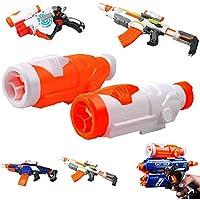 Alcance Vista,Leegoal(TM) Accesorios Élite Pistola de Juguete Ámbito de Enfoque Módulo de Visión Operaciones Afectivas para Pistola Nerf,Naranja