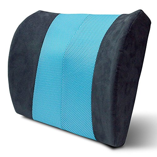 Arctic Sleep by Pure Rest Cool-Gel Memory Foam Mobile Back Support Pillow