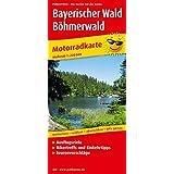 Bayerischer Wald - Böhmerwald: Motorradkarte mit Ausflugszielen, Einkehr- und Freizeittipps und Tourenvorschlägen, wetterfest, reißfest, abwischbar, GPS-genau: 1:200000